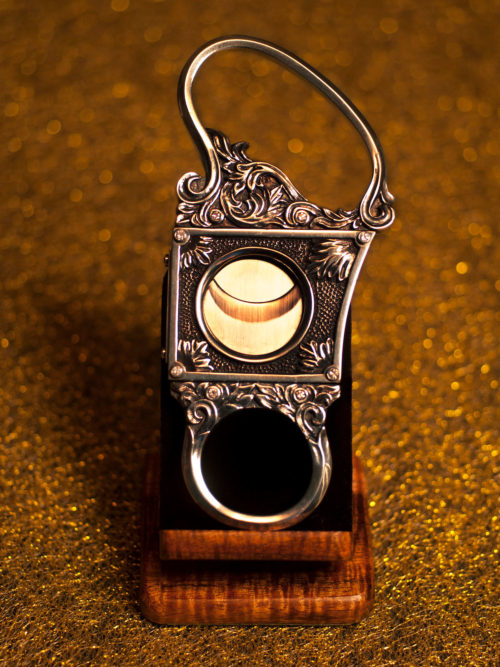 Sterling Silver Goliath Cigar Cutter by Paramount Cutters
