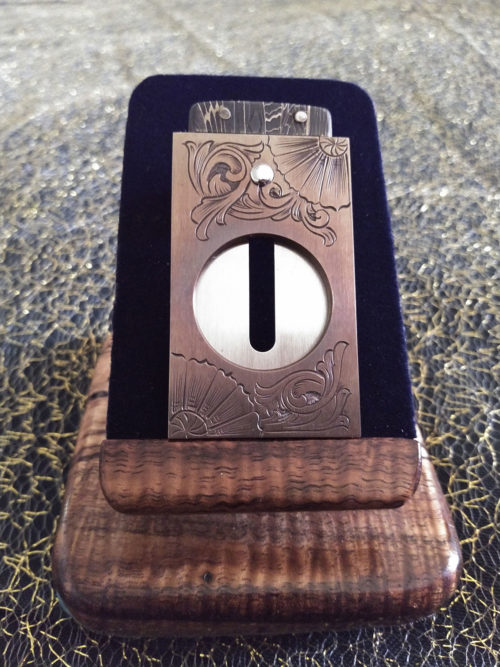 Venetian & Scroll Cigar Cutter