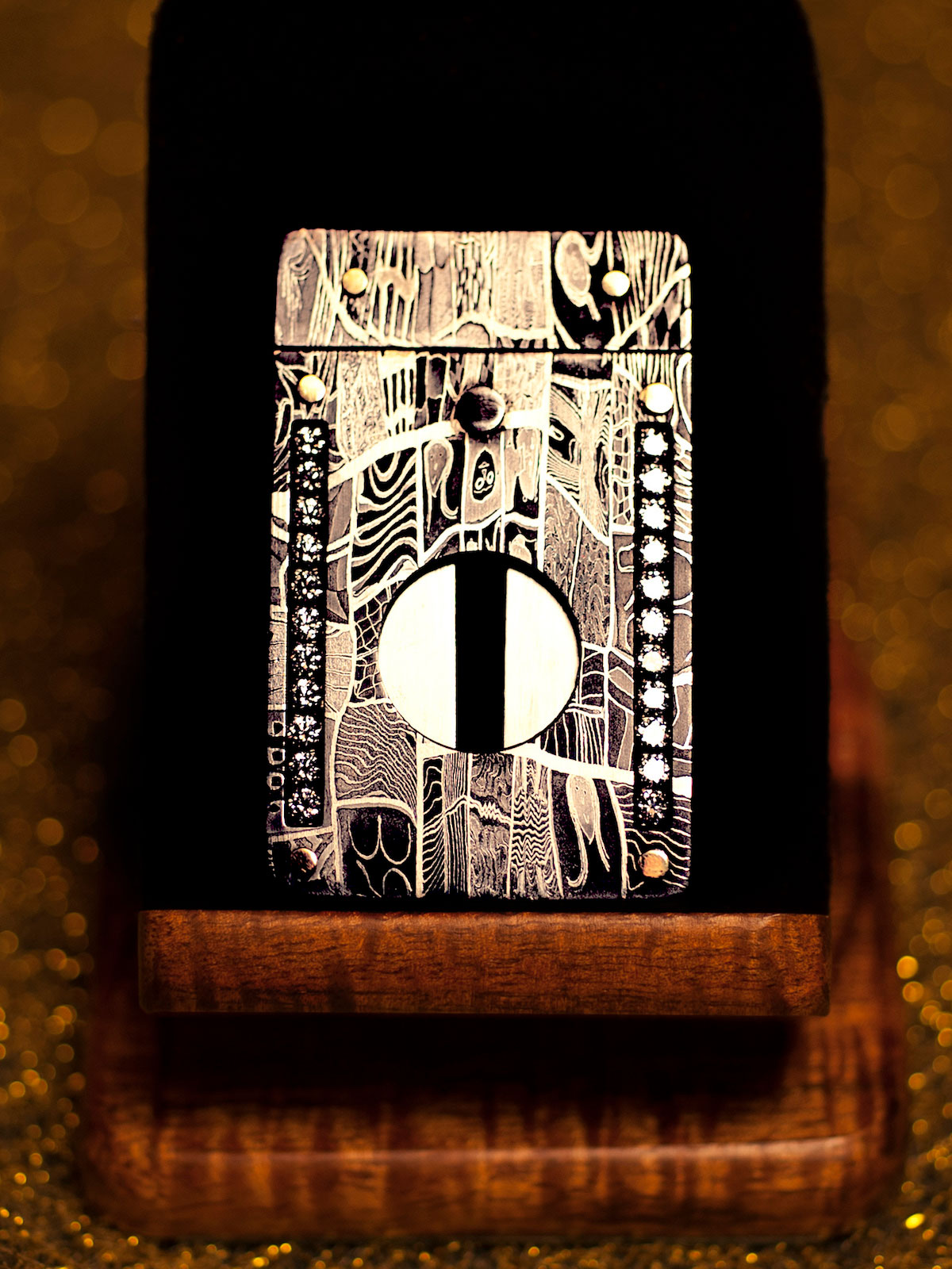 Mosaic Cigar Cutter by Paramount Cutters